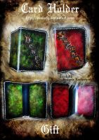 Card Holder - Couple gift by Deakath