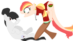 Collab: I like what you did with your mane! by sootaloo