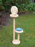 Contemporary bird bath by arbortechuser