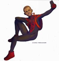 Miles Morales by catchingspiders