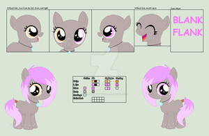 Bubbly Smile's Ref Sheet .:OC:. by xXLovingponiesXx