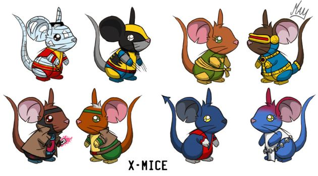 X-Mice by DudeInEmerica