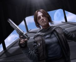 Jyn Erso by R-Valle