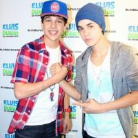 Austin Mahone and Justin Bieber by Imtailsthefoxfan