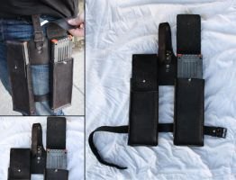 Thigh Mag holster - HvZDK by Simbaen