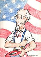 Uncle Sam 2001 by kurtoons