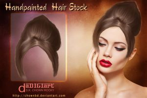 Hair Stock by SK-DIGIART