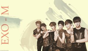 EXO-M by startdreaming
