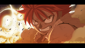 Dragon Furious - Natsu Dragneel by MarxeDP