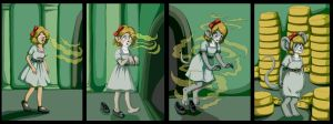 Dorothy transforms in to a mouse by sushy00