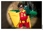 San Diego Comic Con 2009 - Robin 03 by Adurosphoto
