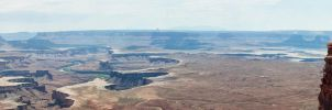 CanyonLands River View by Bawwomick