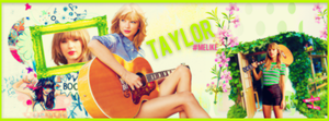 Taylor Swift Facebook Cover by Melike120