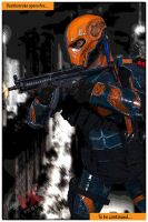 Deathstroke by FXFuzion