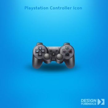 Playstation Controller Icon by DESIGN-FORENSICS