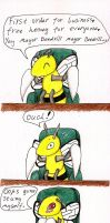 mayor beedrill by xtreamxboxer
