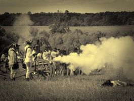 washington's artillery by Mjag