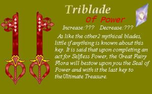 Triblade of Power by Ellyon