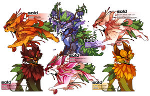 Flora + Fauna: RottRoots Batch 1 by LucentAlley