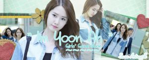 Yoona SNSD Blue Airport Fashion Banner by yoonaddict150202
