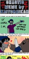 Chaotic Meme by... Myself XD by Kaitoraikan