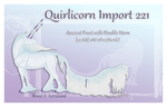 Quirlicorn Custom Import 221 by Astralseed