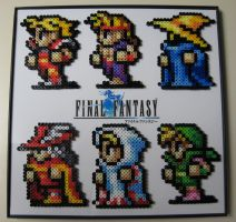 Perler Final Fantasy Cast by Dlugo1975