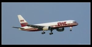 DHL B757 by 00AngelicDevil00