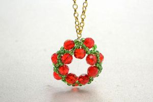Christmas Garland Ornament by Jersica11