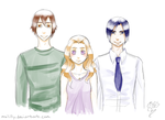 Love triangle by MsLilly