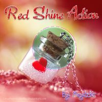 Red Shine Action by MayteKr
