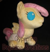 Baby Fluttershy Commission by Gypmina