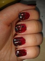 Red and black gradient by riorval
