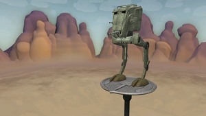 Spore: Imperial AT-ST by Cryptdidical
