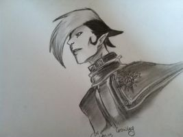 Crowley Sketch by Tinalbion