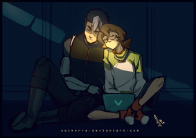 After a long night... by SolKorra