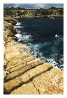 Stairway to the sea.. by Roman89
