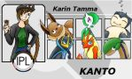 Karin Tamma Trainer card. by kayanne21