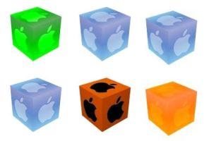 Apple Cube Misc Pack by SirSmiley