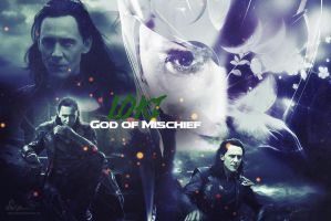 Loki - God of Mischief by Elflover21