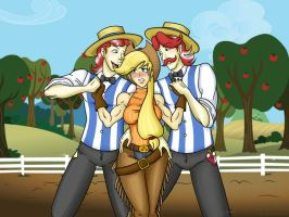 Lookie what we got here, brother of mine by Hasana-chan