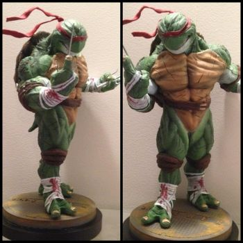 Tmnt Rafael finished paint job by tenzony
