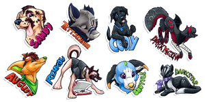 Badge Batch 11 by Tsebresos
