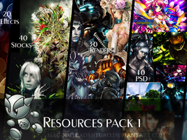 Resources Pack 1 by magodelcaosnegro