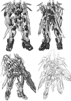 Mech variations sketch by Frost7