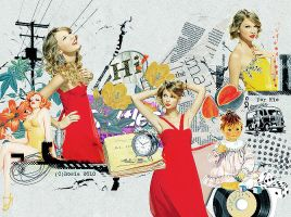 taylor swift's snl gorgeous by letschill