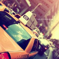 New York - Taxi by DarkSaiF