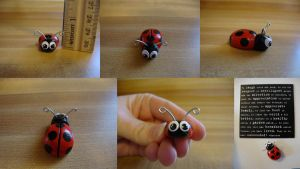 Lady the Ladybug by jadepyper