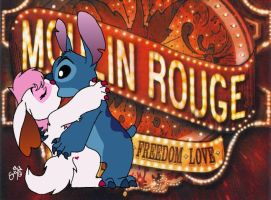 Moulin ROUGE by cowgirlem