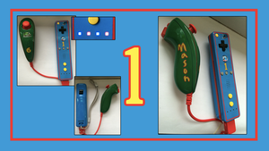 Personalized Custom Thomas the Train Wii Remote by CARDI-ology